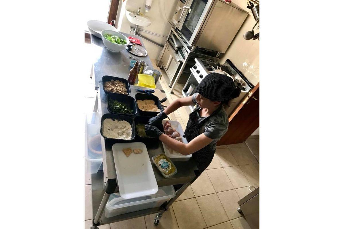 Ristorante - cucina tipica umbra - Agriturismo il Poderaccio Alto